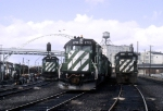 Three Second Generation EMD Faces